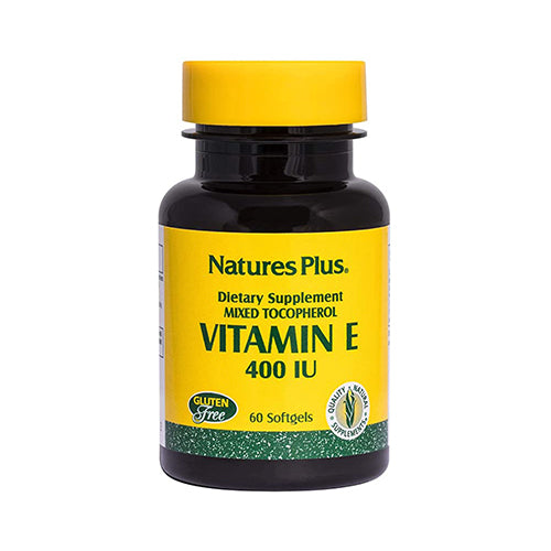 Nature's Plus Vitamin E 400IU 60 Softgels