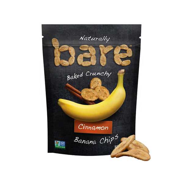 Bare Cinnamon Banana Chips 77g