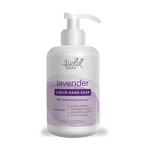 Field Day Lavender Liquid Hand Soap 370ml