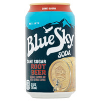 Blue Sky Cane Sugar Root Beer Soda 355ml