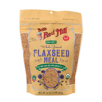 Bob's Red Mill Organic Whole Ground Flaxseed Meal 453g