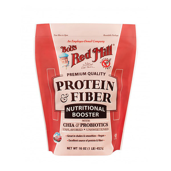 Bobs Red Mill Protein & Fiber Nutritional Booster with Chia & Probiotics 453g