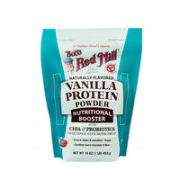 Bobs Red Mill Vanilla Protein Powder Nutritional Booster with Chia and Probiotics 453g