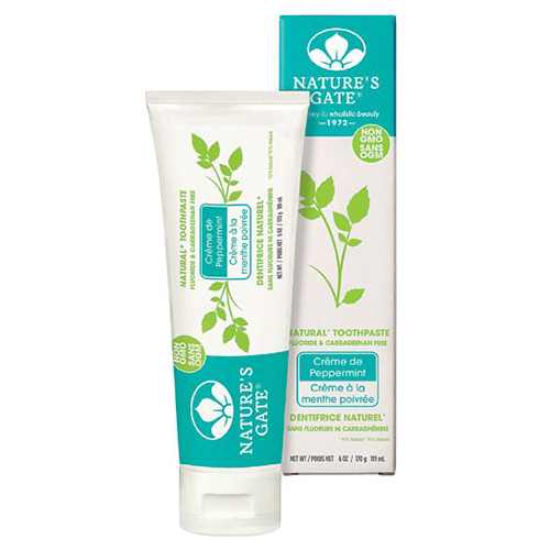 Natures Gate Natural Toothpaste Crème de Peppermint 170g