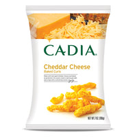 Cadia Cheddar Cheese Baked Curls 198g