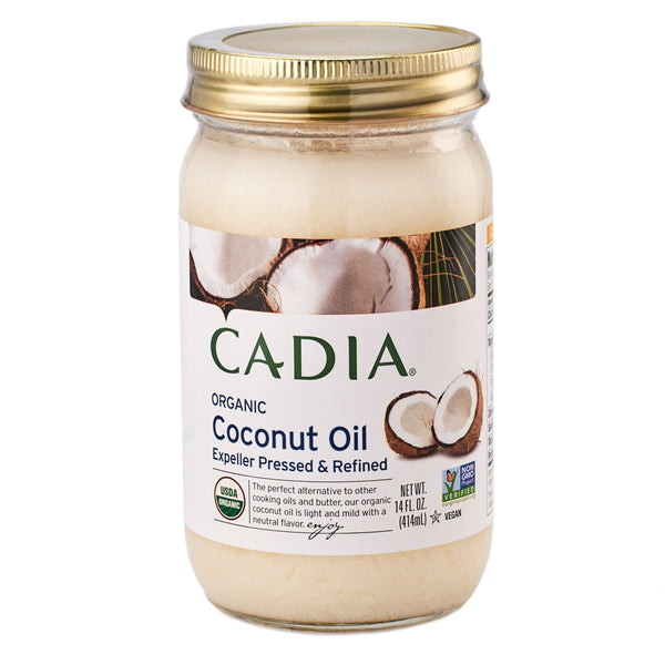 Cadia Organic Expeller Pressed & Refined Coconut Oil 414ml