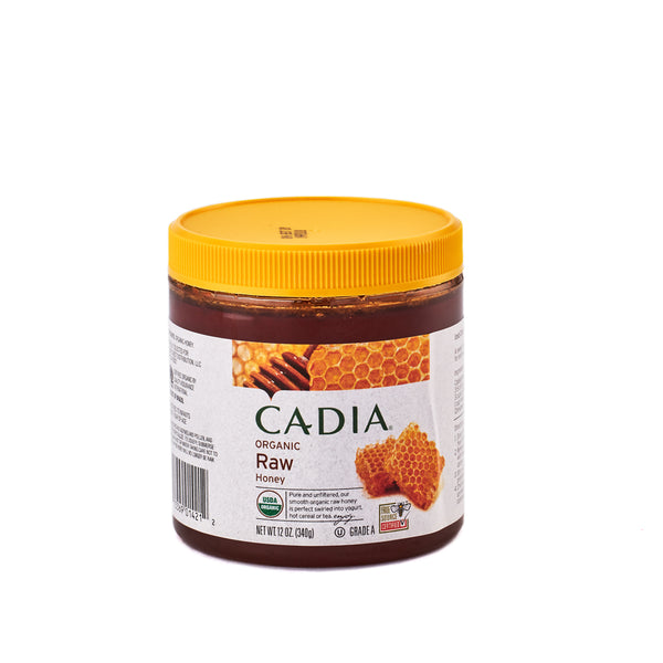 Cadia Organic Raw Honey 340g
