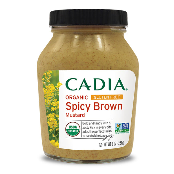 Cadia Organic Spicy Brown Mustard 227g