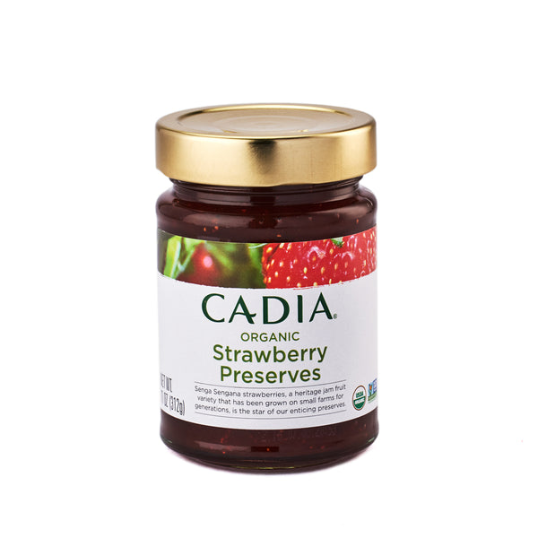 Cadia Organic Strawberry Preserves 312g