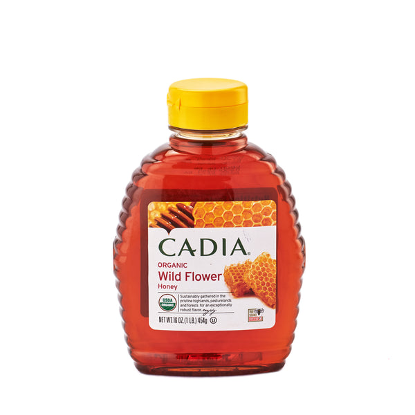 Cadia Organic Wild Flower Honey 454g