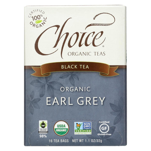 Choice Organic Teas Organic Earl Grey Tea 16 tea bags