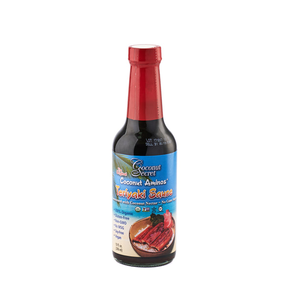Coconut Secret Organic Coconut Aminos Teriyaki Sauce 295ml