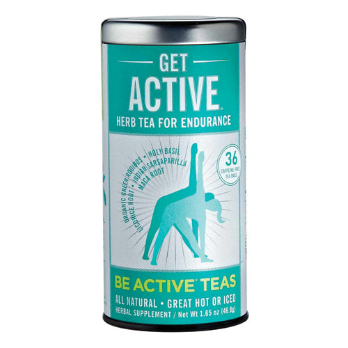 Republic Of Tea Get Active Herb For Endurance Be Active Teas 36 Tea Bags