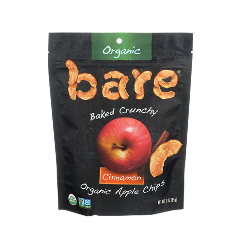 Bare Organic Cinnamon Apple Chips 35g