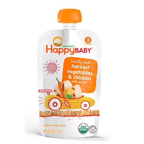Happy Baby Harvest Vegetables & Chicken Stage 3 113g