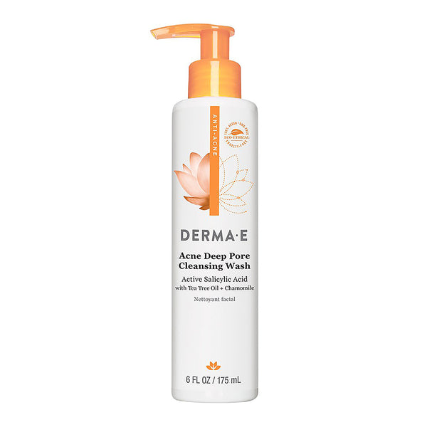 Derma E Anti-Acne Deep Pore Cleansing Wash 175ml