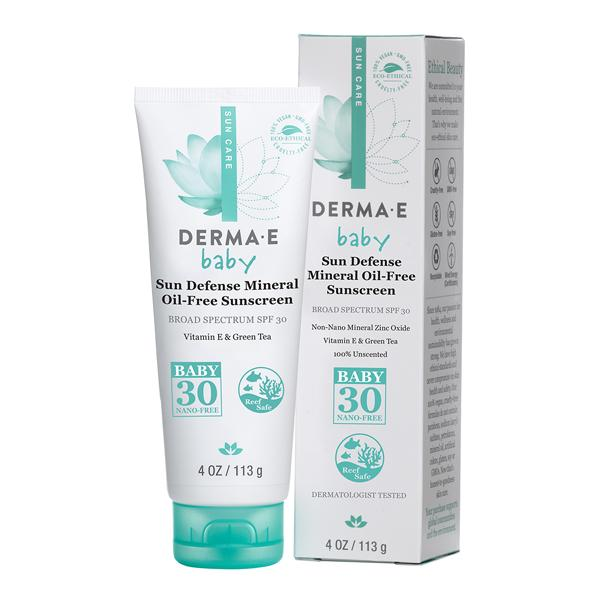 Derma E Sun Defense Mineral Oil-free Baby Sunscreen SPF 30 113g