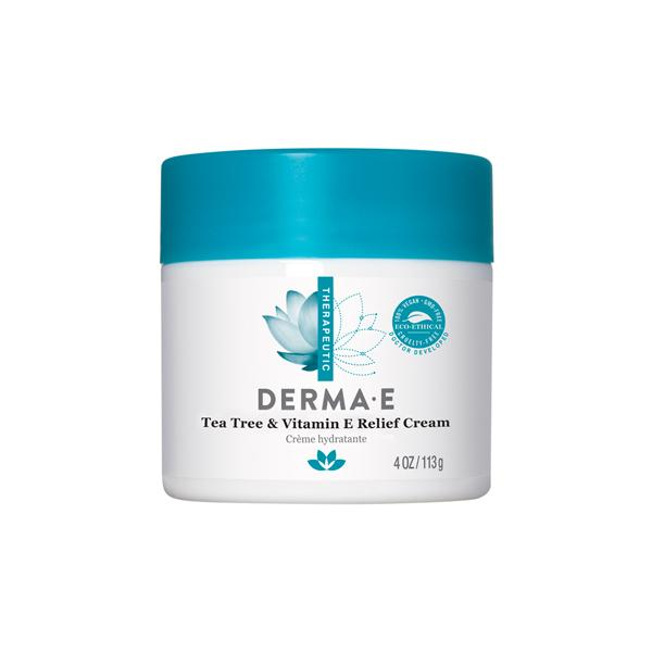 Derma E Tea Tree and Vitamin E Relief Cream 113g