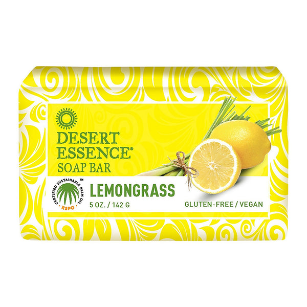 Desert Essence Lemongrass Bar Soap 142g