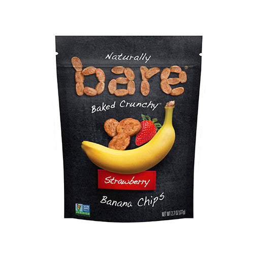 Bare Snacks Strawberry Banana Chips 77g