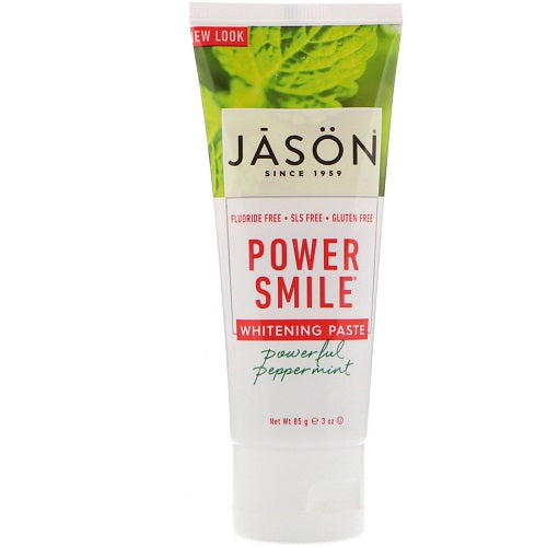 JASON Powerful Peppermint Powersmile Toothpaste 85g