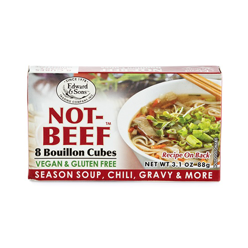 Edward & Sons Not-Beef Bouillon Cubes 88g