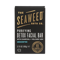 The Seaweed Bath Co. Purifying Detox Facial Bar Unscented 106g