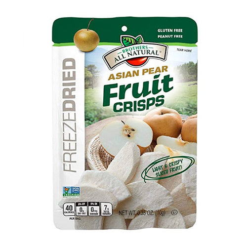 Brothers All Natural Freeze Dried Asian Pear Fruit Crisps 10g