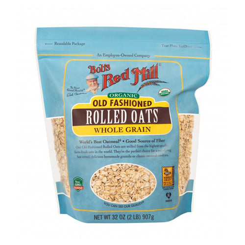 Bob's Red Mill Organic Old Fashioned Rolled Oats 907g