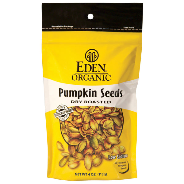 Eden Dry Roasted Pumpkin Seeds 113g