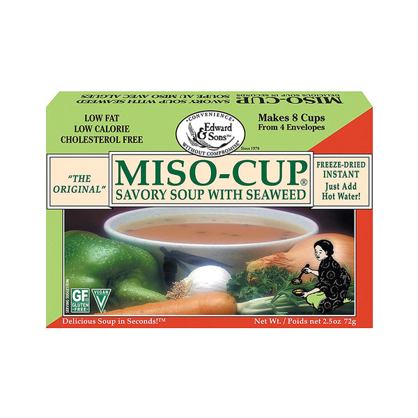 Edward & Sons Original Miso Soup with Seaweed 72g