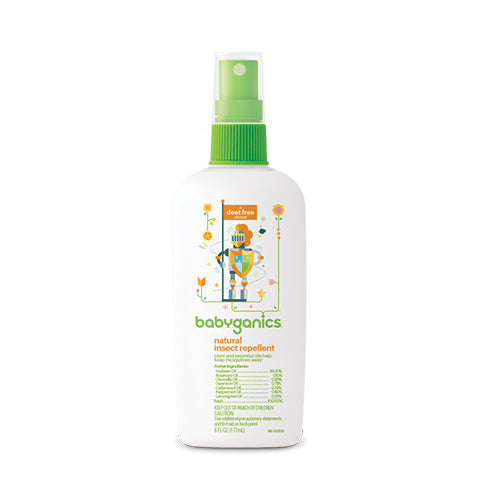 Babyganics Natural Insect Repellent 177ml