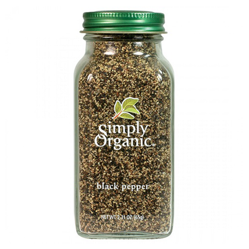 Simply Organic Black Pepper 65g