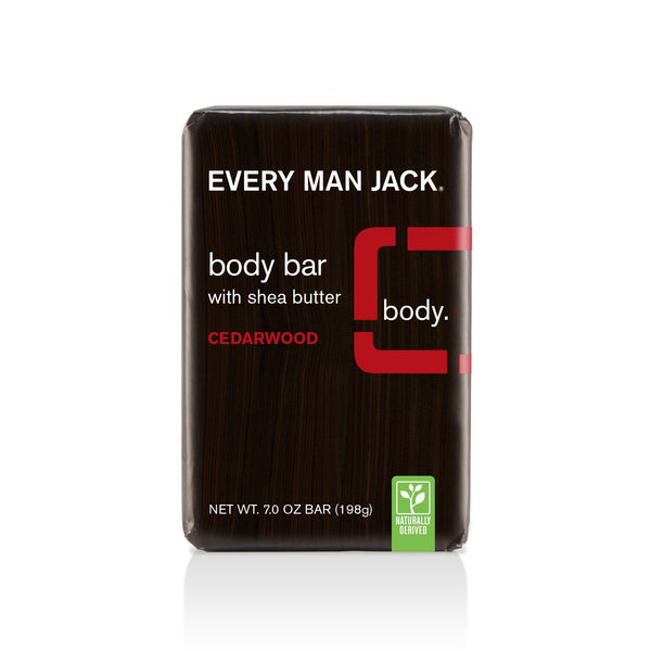 Every Man Jack Cedarwood Body Bar 198g