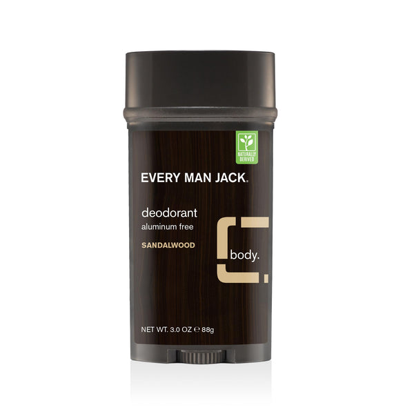 Every Man Jack Sandalwood Stick Deodorant 88g
