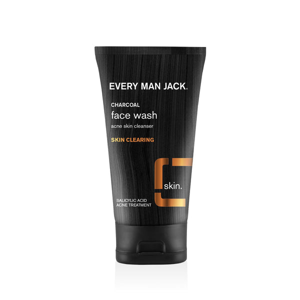 Every Man Jack Skin Clearing Charcoal Facial Wash 147ml