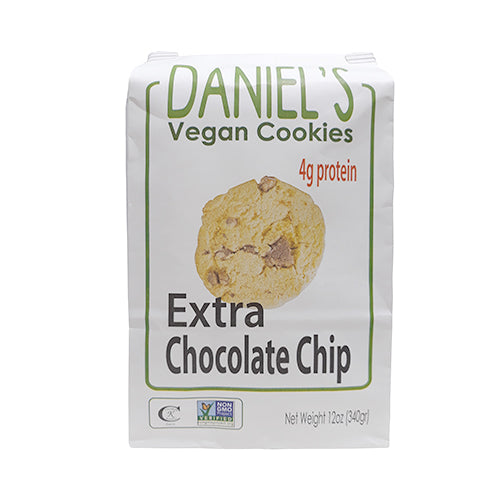 St. Amour Daniel's Vegan Cookies Chocolate Chip + Extra Chocolate Chips with Protein 340g