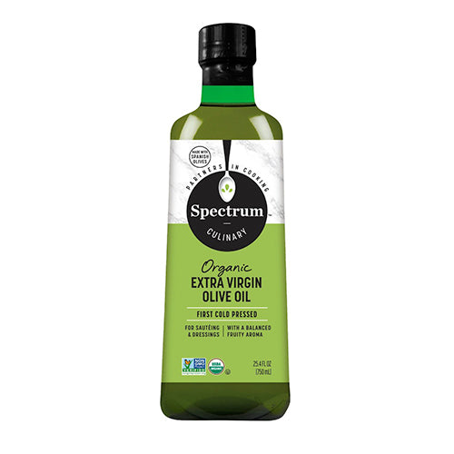 Spectrum Organic Extra Virgin Olive Oil 750mL