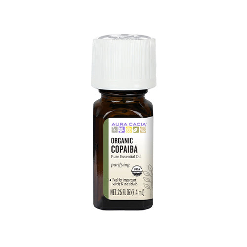 Aura Cacia Organic Copaiba Essential Oil 7.4ml