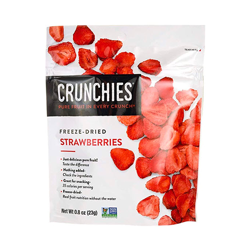 Crunchies Freeze Dried Strawberries 23g
