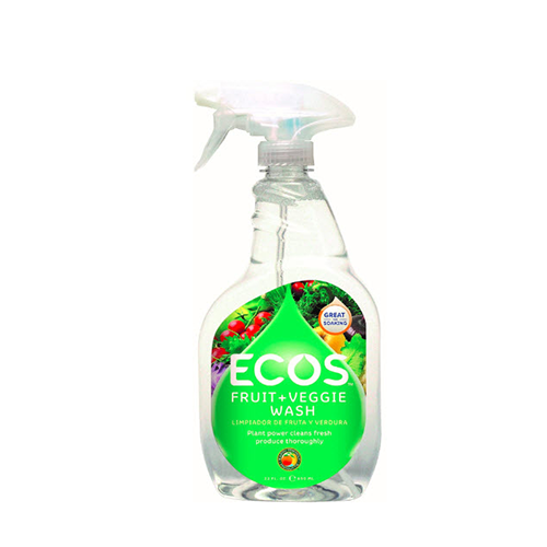Earth Friendly Ecos Fruit + Veggie Wash 650ml