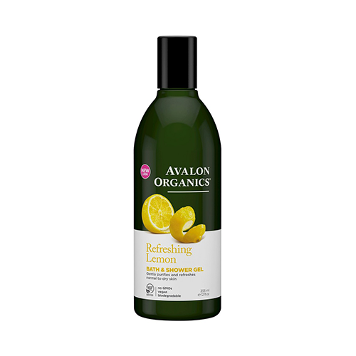 Avalon Organics Refreshing Lemon Bath & Shower Gel 355ml