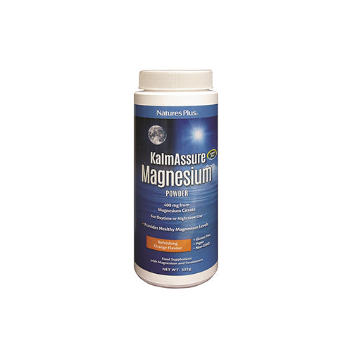 Nature's Plus KalmAssure Magnesium 400mg Powder 522 Grams