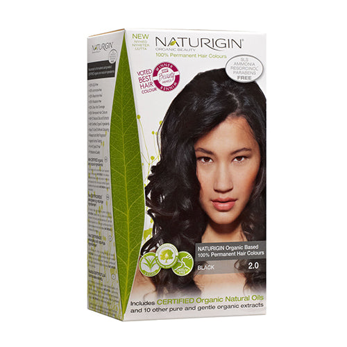 Naturigin 2.0 Black 100% Permanent Hair Colour