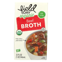 Field Day Organic Beef Broth 946ml