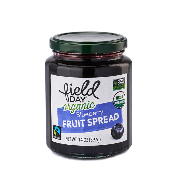 Field Day Organic Blueberry Fruit Spread 397g
