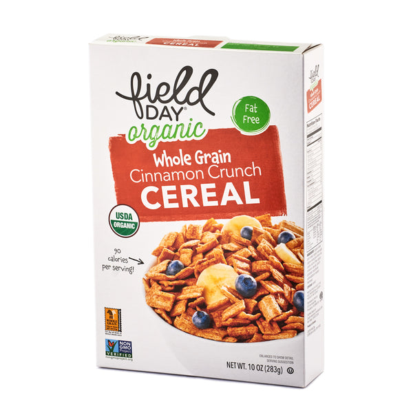 Field Day Organic Whole Grain Cinnamon Crunch Cereal 283g