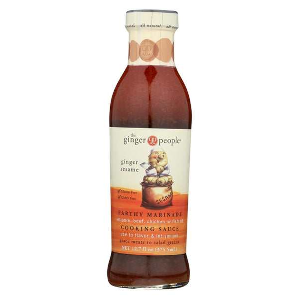 Ginger People Ginger Sesame Earthy Marinade 376ml
