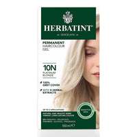 Herbatint 10N Platinum Blonde Hair Color 150ml