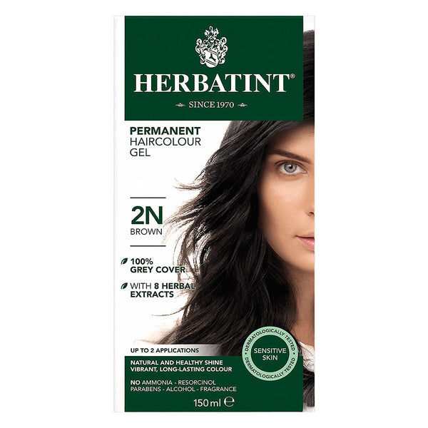 Herbatint 2N Brown Hair Color 150ml